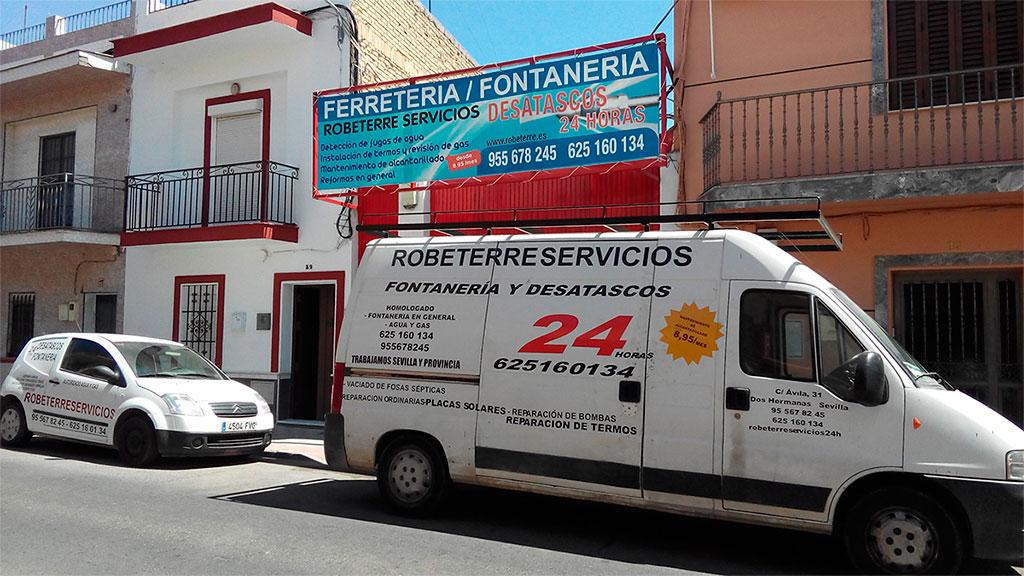 ROBETERRE - Fontanería y Desatascos - Ferretería